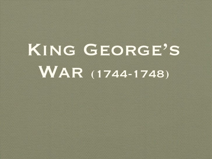 King george's war