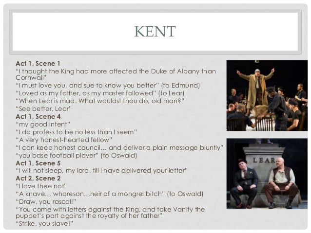 What is a good topic for a King Lear essay?