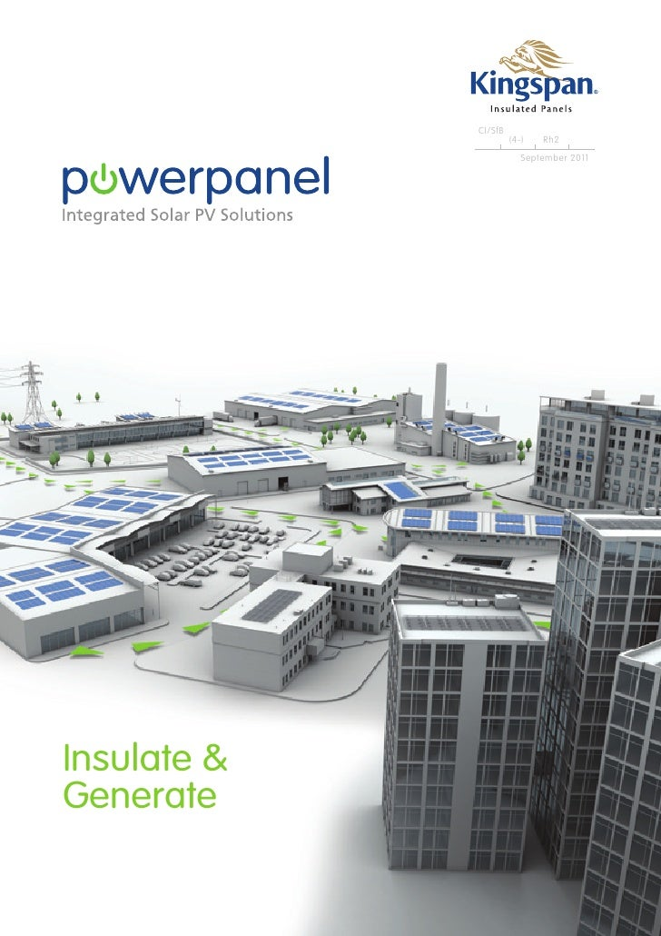 Kingspan power panel