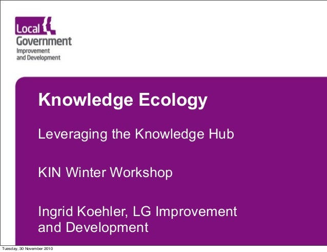 Knowledge Ecology