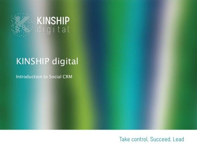 KINSHIP digital Social CRM ( InsideView for MS Dynamics )