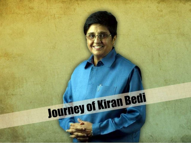 Tales of Great Careers - Kiran Bedi