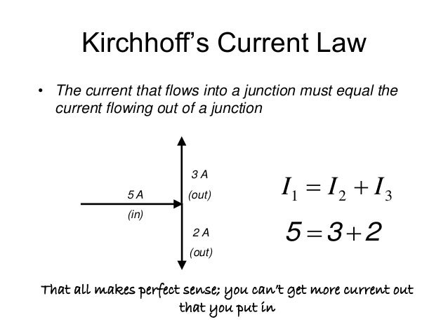 kirchhoffs law Key difference – ohm's law vs kirchhoff's law when it comes to understanding the electricity, it is highly crucial to understand the relationship between the primitive parameters, voltage and currentthe basic principle that describes this relationship is ohm's law.