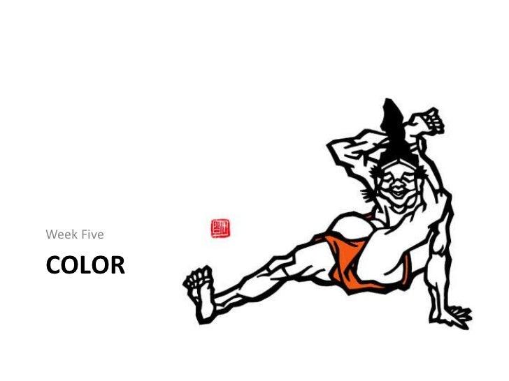 Kirie   week five - color
