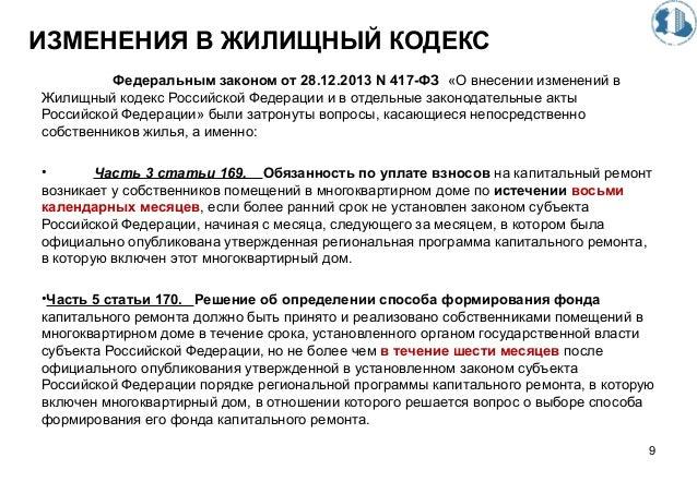 Жк рф статья 103 Оно