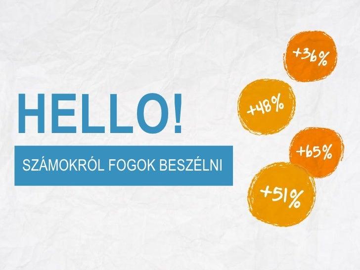 HELLO! SZÁMOKRÓL FOGOK BESZÉLNI            www.kirowski.hu   Linked by Isobar