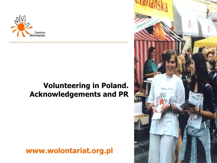 Volunteering in Poland