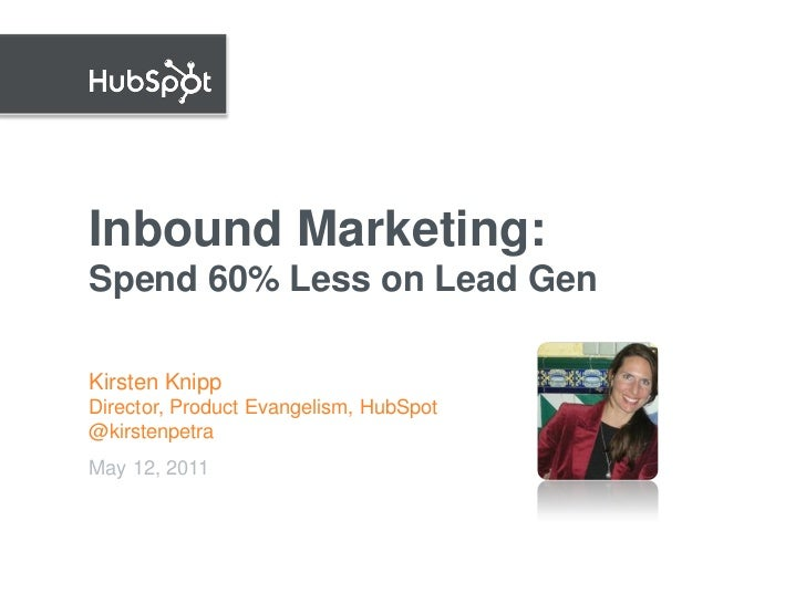Inbound Marketing - Leads for 60% Less | NEDMA