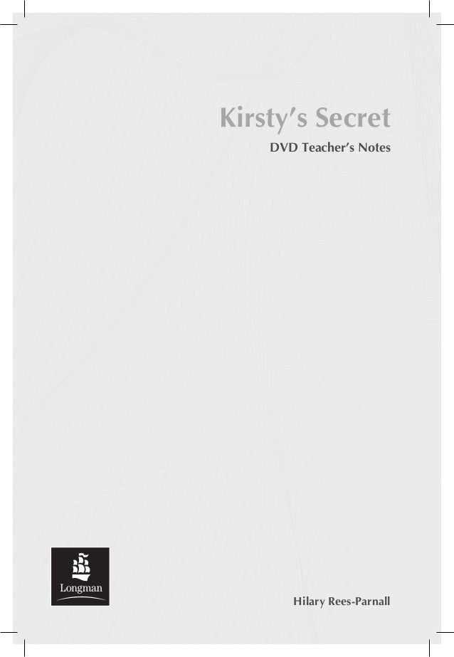 Kirsty's secret teacher's_notes