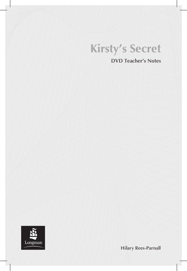 Kirsty's secret teacher's_notes