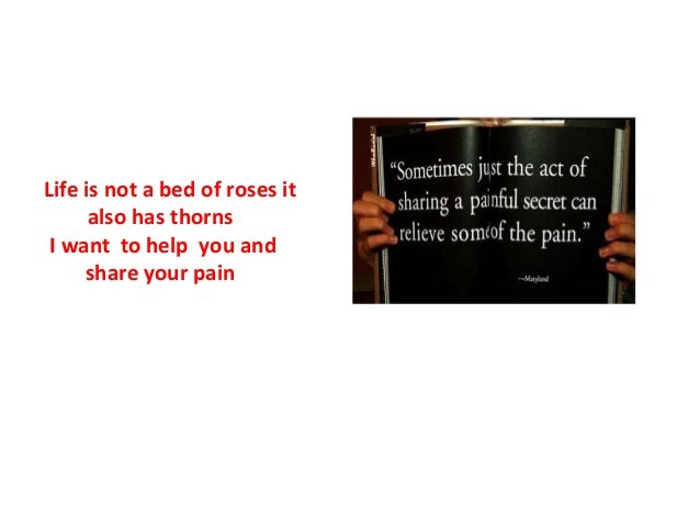 Speech on life is not a bed of roses
