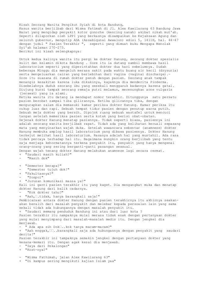 Kisah Seorang Wanita Pengikut Syiah di kota Bandung,Kasus wanita berjilbab dari Wisma Fatimah di Jl. Alex Kawilarang 63 Ba...