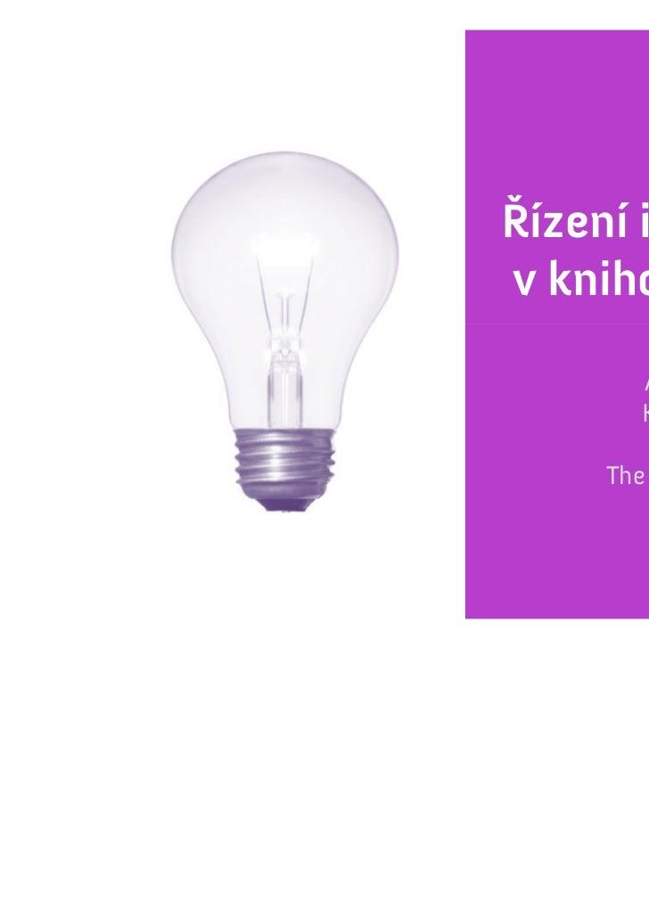 Adam Hazdra + Kateřina Kánská: Řízení inovací