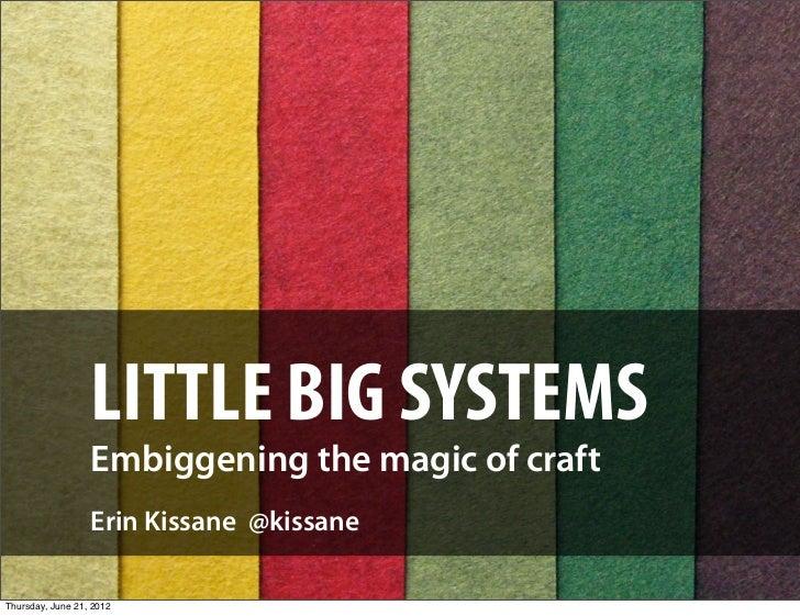 Little Big Systems (Interlink edition)