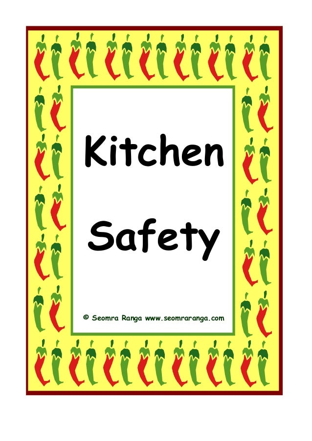 Kitchen safety for 5 kitchen safety tips