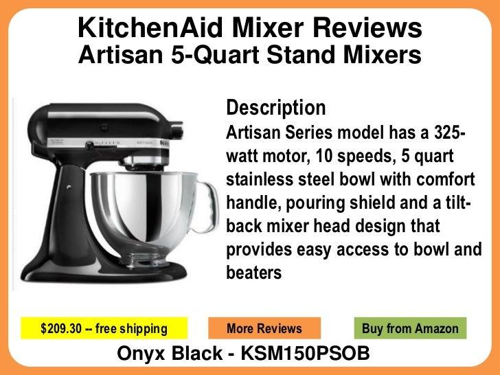Kitchenaid mixer reviews for artisan 5 quart stand mixers - Kitchenaid qt mixer review ...