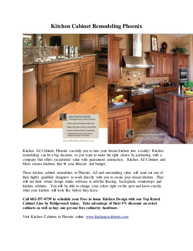 Kitchen cabinet remodeling phoenix for Kitchen cabinets phoenix