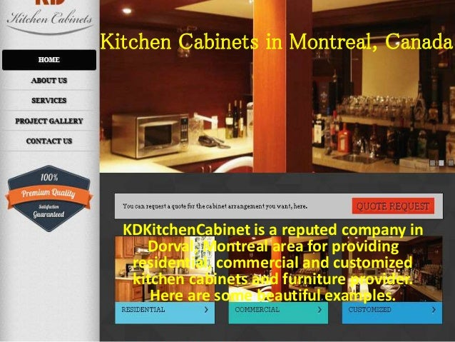 Kd Kitchen Cabinets Montreal