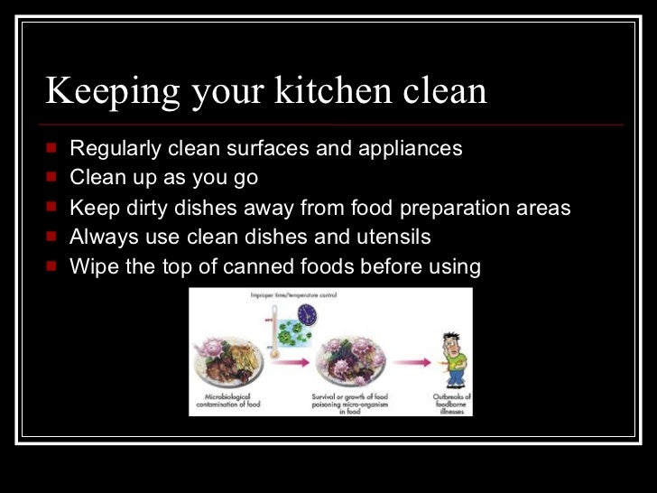 Kitchen food safety for How to keep the kitchen clean