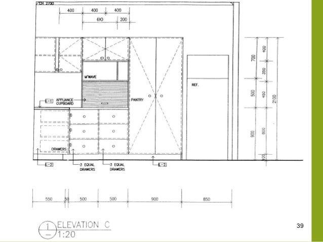 Dashed Lines On Kitchen Base Cabinet Floor Plan