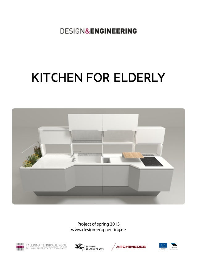 Design engineering kitchen for elderly report for Bathroom design for elderly people