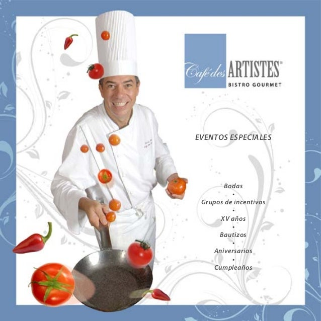 Kit de grupos 2013 Cafe des Artistes