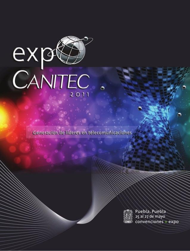 Folleto de Ventas Expo Canitec 2011