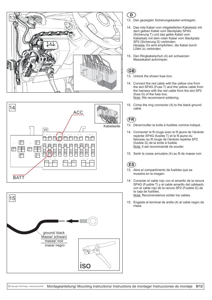 kit d u0026 39 installation pour renault scenic rse