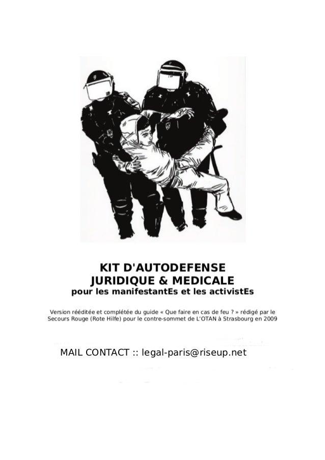 MAIL CONTACT :: legal-paris@riseup.net