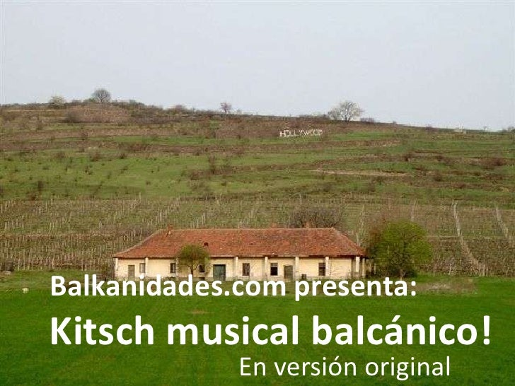 Kitsch Balcánico   V.O.