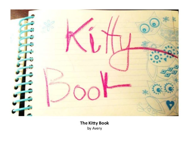 The Kitty Book   by Avery