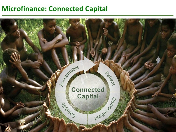 Microfinance: Connected Capital  SOCIAL PERFORMANCE TASK FORCE
