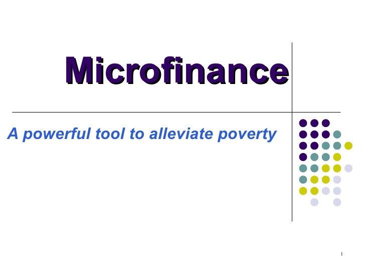 Microlending Basics