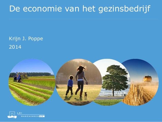 KJ Poppe jaar van het gezinsbedrijf nl