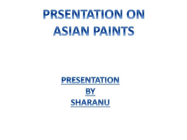 Guess asian paints marketing strategies love your