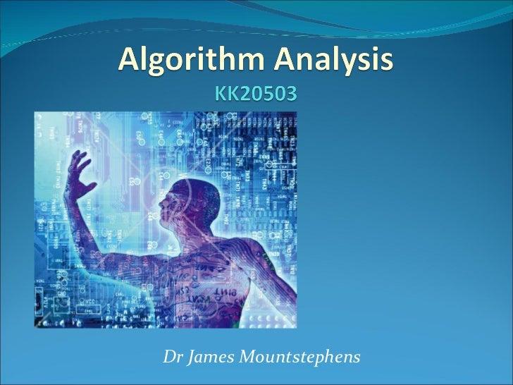 Dr James Mountstephens
