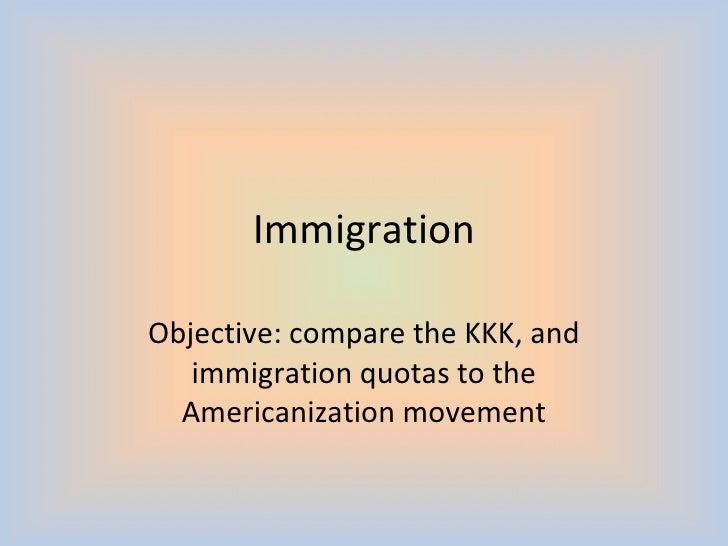 kkk Immigration