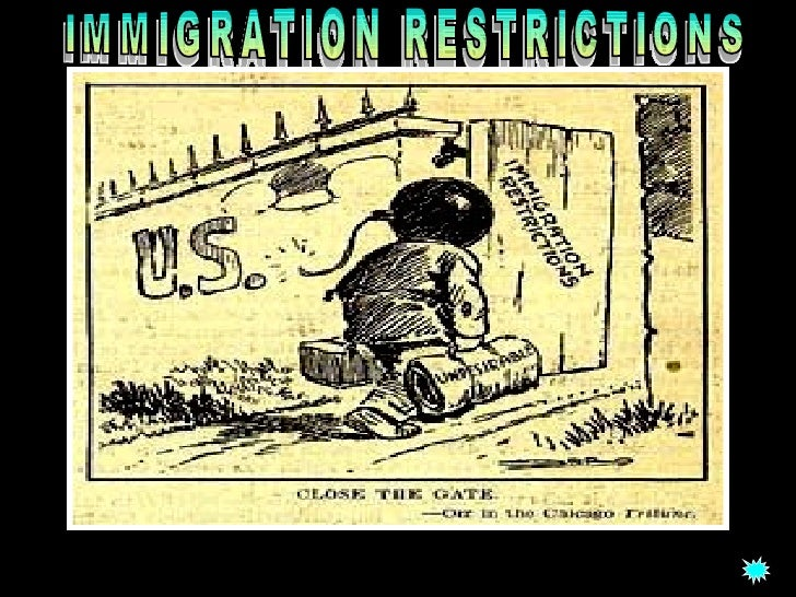 immigration restriction law of 1924 essay On this 240th celebration of american independence, find a summary of those  changes below  whereas the 1790 law required immigrants to have lived in the  us for  the alien and sedition acts this suite of immigration laws permitted   americans when he approved the indian citizenship act of 1924.