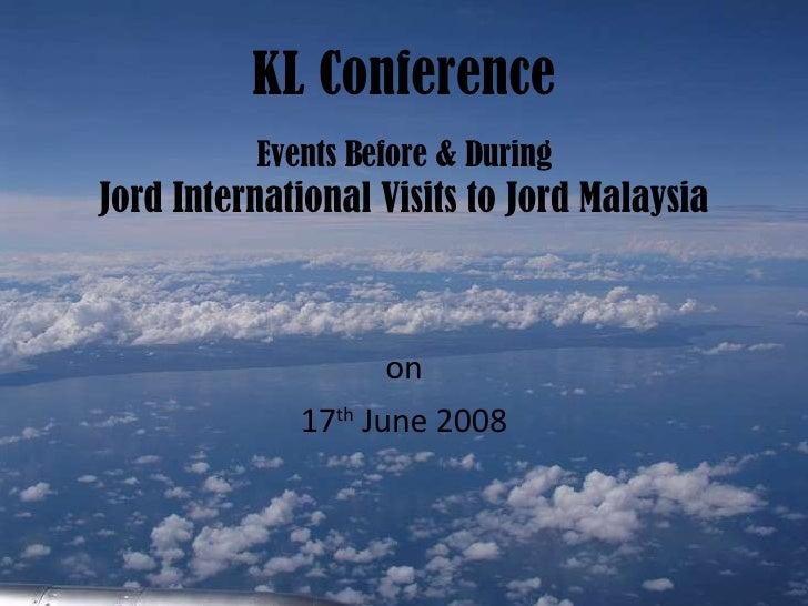 Kl Conference