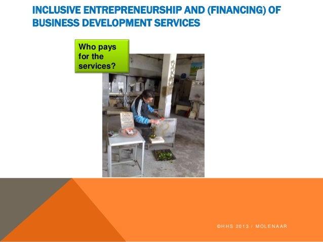 Klaas molenar   inclusive entrepreneurship and (financing) of business