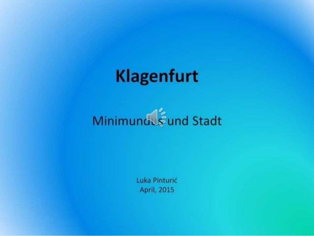 Klagenfurt luka pinturic