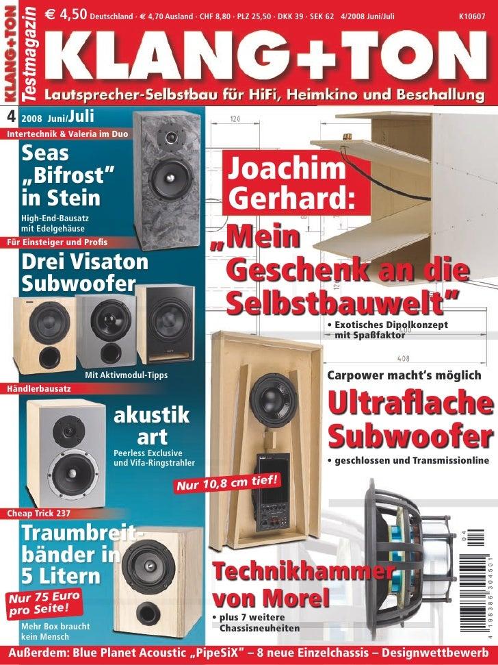 e 4,50 Deutschland · e 4,70 Ausland · CHF 8,80 · PLZ 25,50 · DKK 39 · SEK 62   Testmagazin                                ...