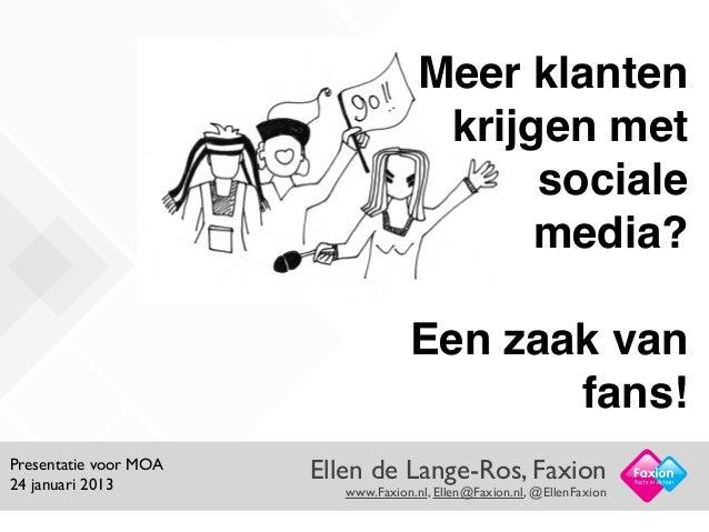 Meer klanten                                       krijgen met                                            sociale         ...