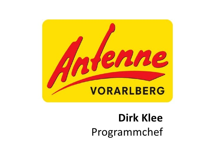 Dirk KleeProgrammchef