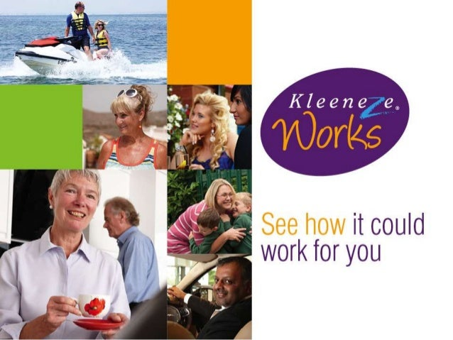 Kleeneze works to give you what you want from life • Earn extra money • Work flexible hours around your family, studies or...