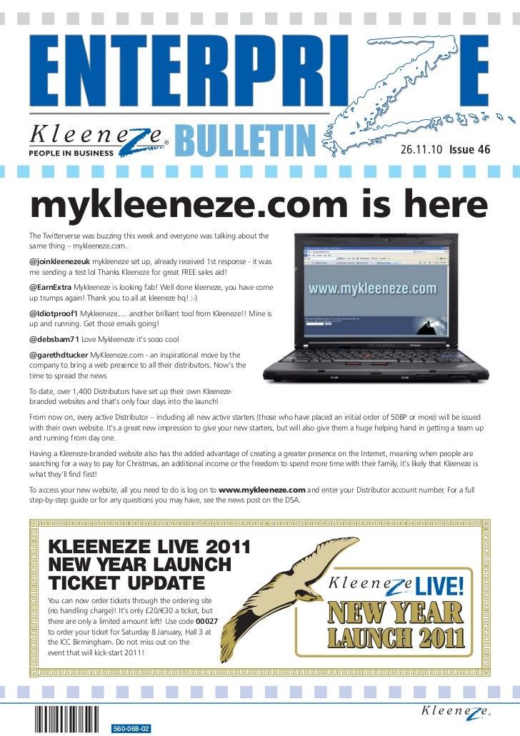 BULLETIN                                                                                                         26.11.10 ...