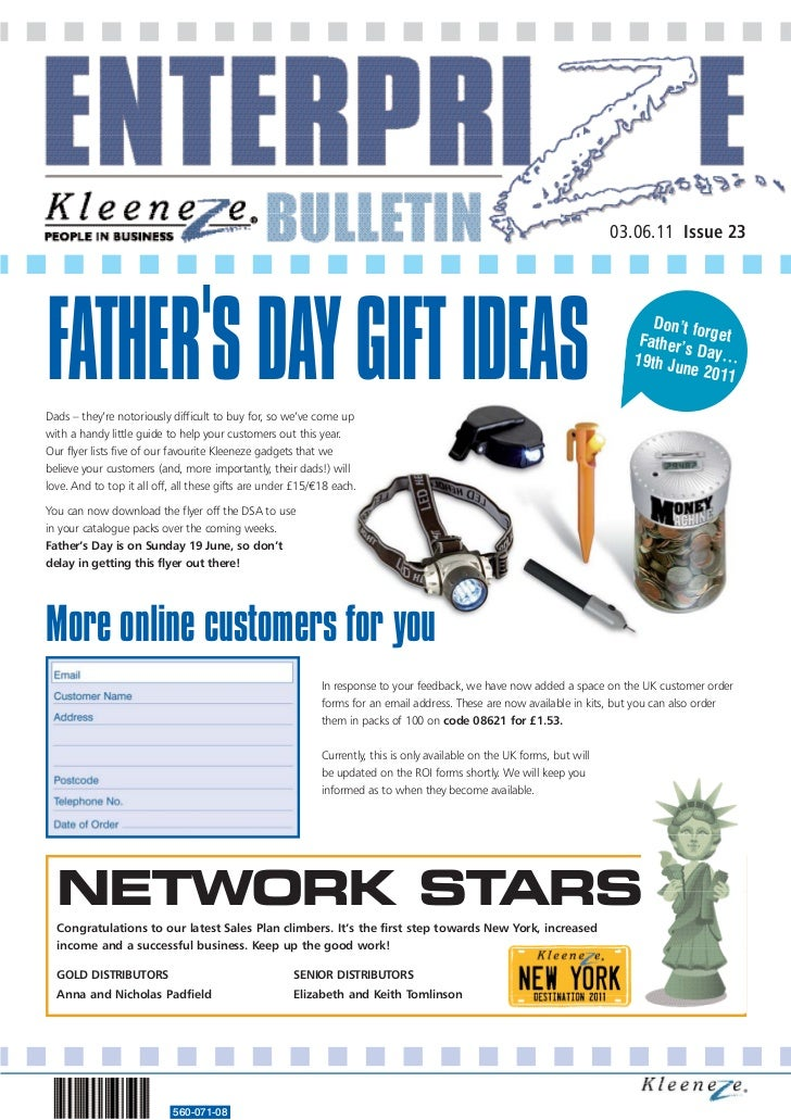 03.06.11 Issue 23FATHERS DAY GIFT IDEAS                                                                                   ...