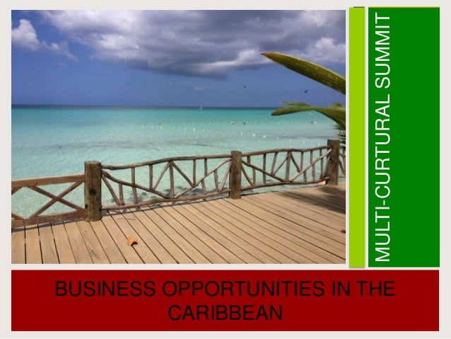 MULTI-CURTURALSUMMITBUSINESS OPPORTUNITIES IN THECARIBBEAN