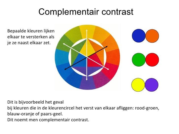 Kleuren - Wat zijn de warme kleuren ...