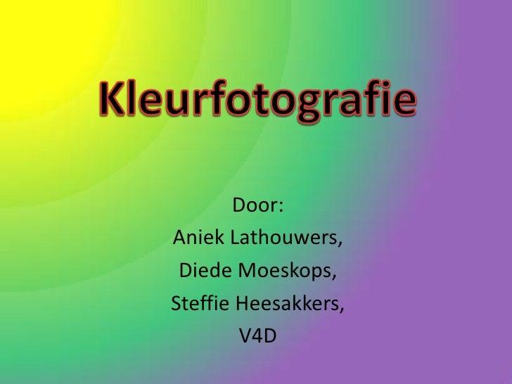 Kleurfotografie